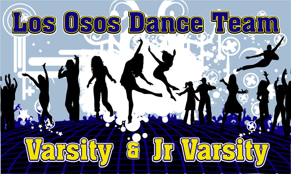 Los Osos Dance Team Banner